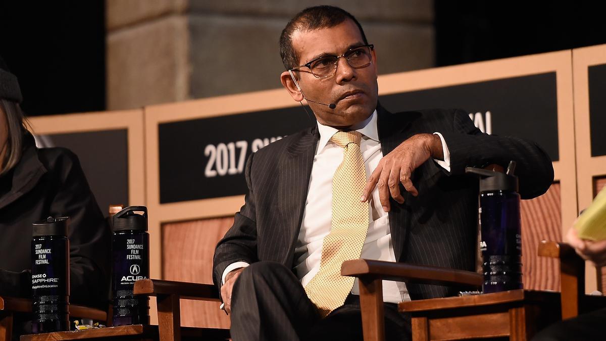 El expresidente de Maldivas, Mohamed Nasheed.