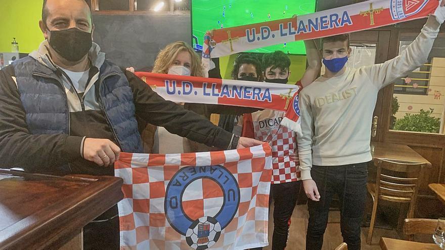 Empate a sidra en Llanera: así vivieron los vecinos en los bares el partido de Copa ante el Celta