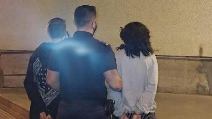 Cuatro detenidos en 24 horas en Palma por ocho robos en el interior de vehículos