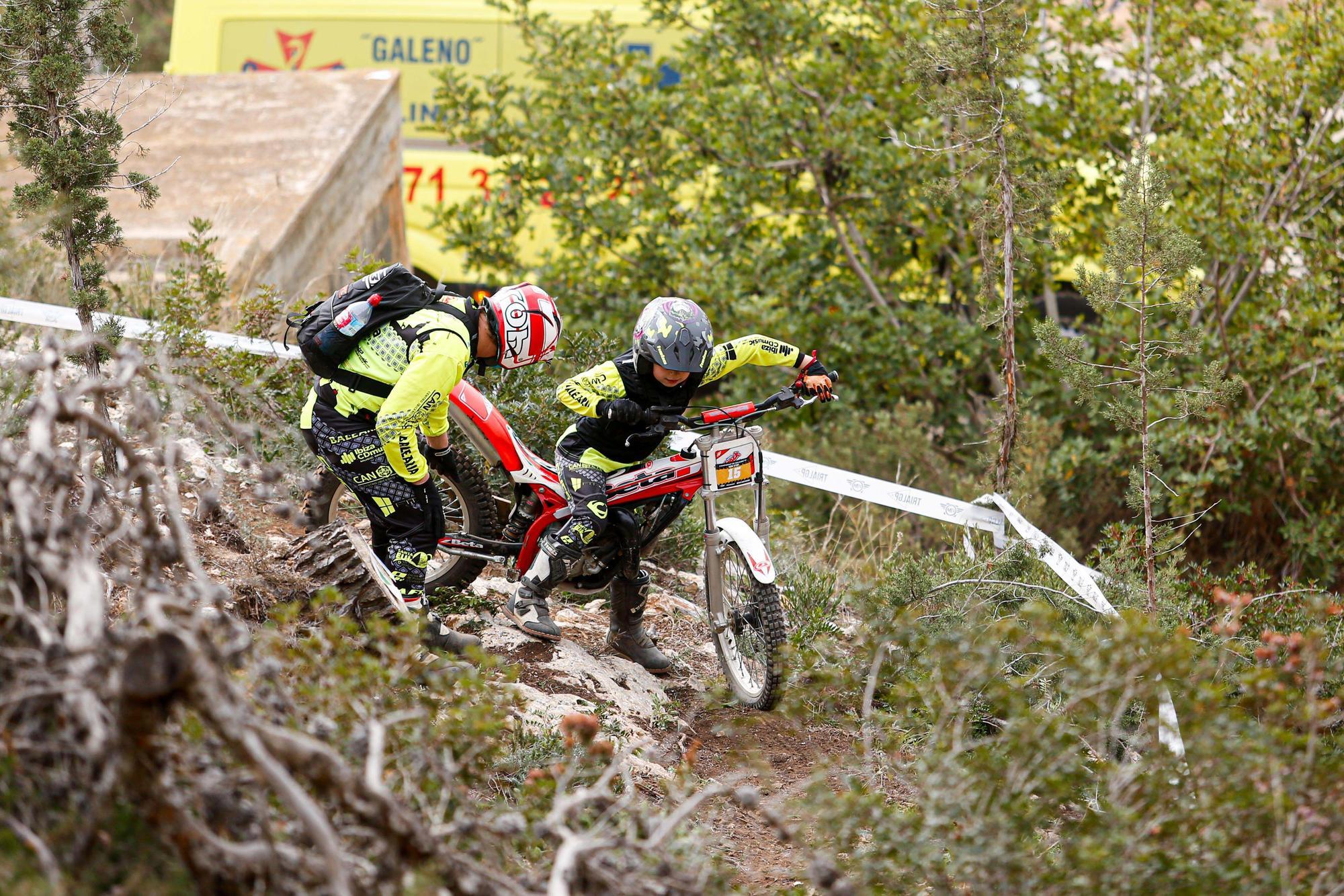 El trial se abre paso en Ibiza entre la pandemia del covid