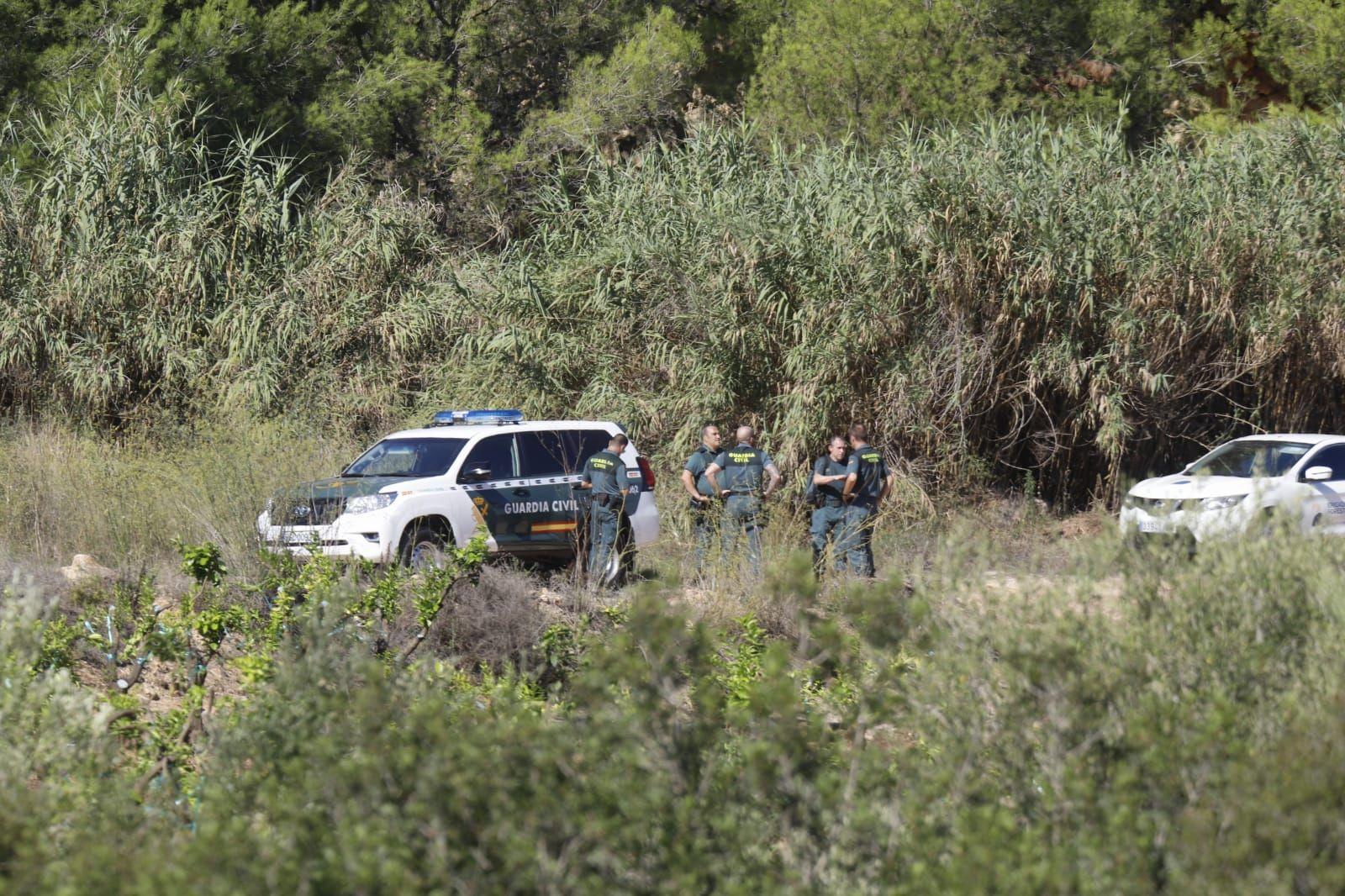 Segundo día de búsqueda del cuerpo de Marta Calvo en una cantera abandonada