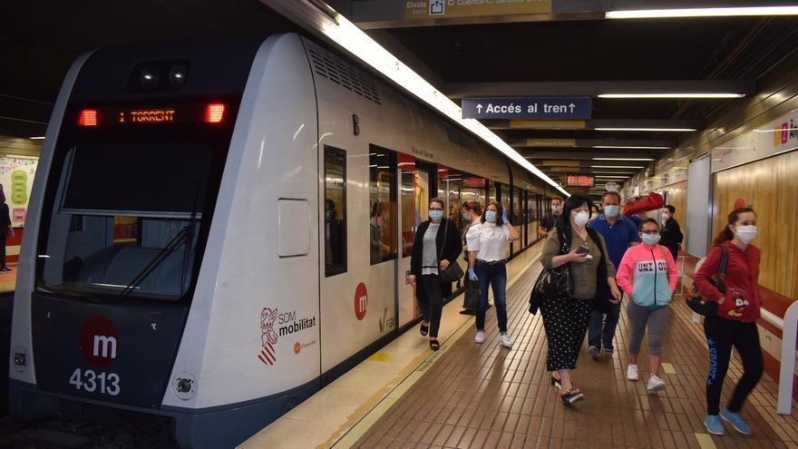 La Generalitat congela las tarifas de Metrovalencia, TRAM y Metrobus para 2021