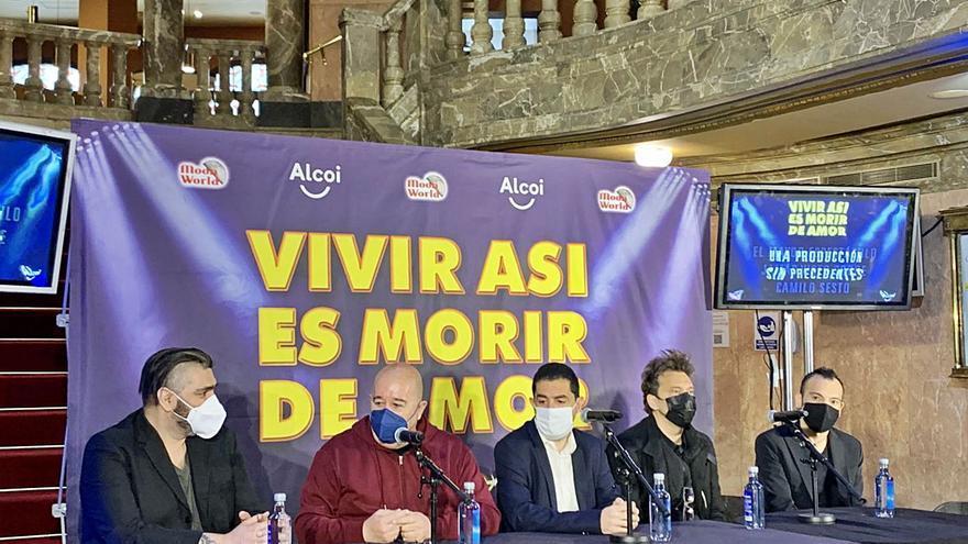 Las canciones de Camilo Sesto volverán a los teatros en un espectáculo con más de 20 artistas