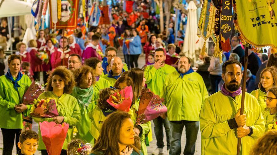 Las entidades festeras de Benidorm renuncian a sus subvenciones de 2020