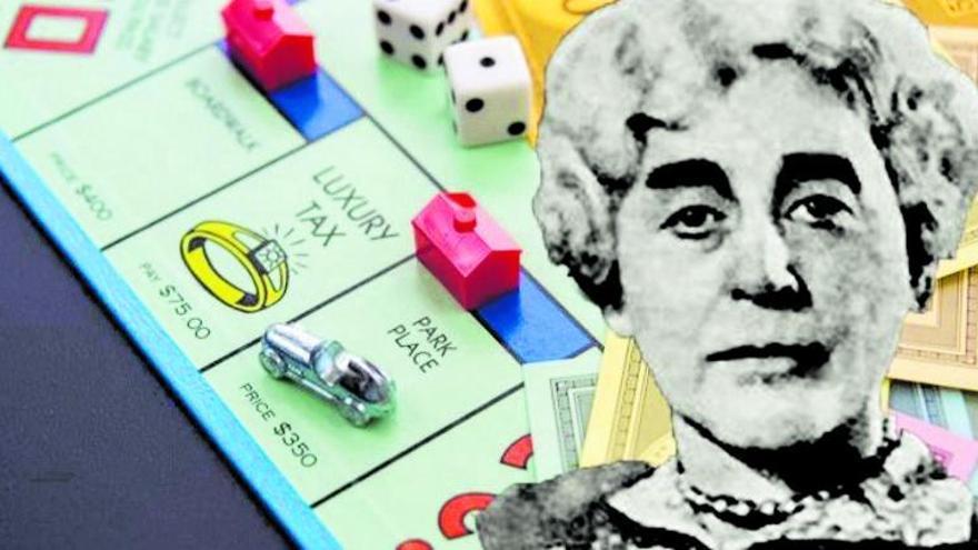 La mujer del Monopoly