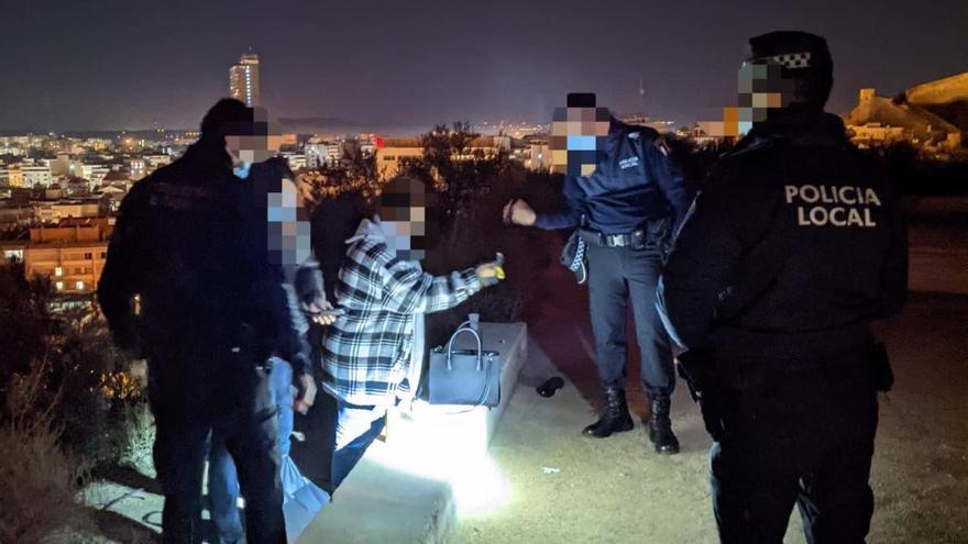 El Ayuntamiento de Alicante detecta repunte de botellones la noche del sábado con 24 jóvenes denunciados