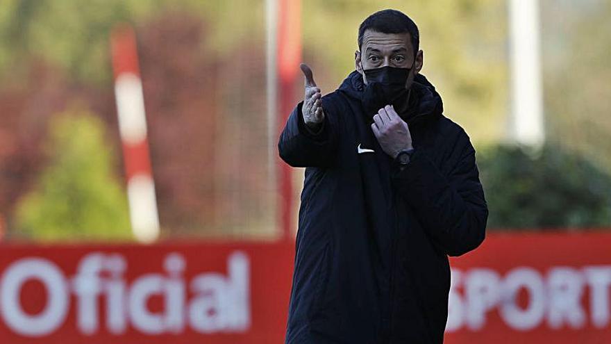 Sergio Sánchez, octavo positivo por covid-19 en el Sporting