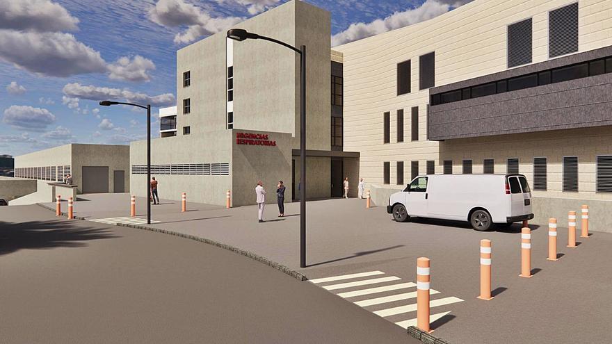 El hospital amplía la unidad de Urgencias para aliviar el colapso