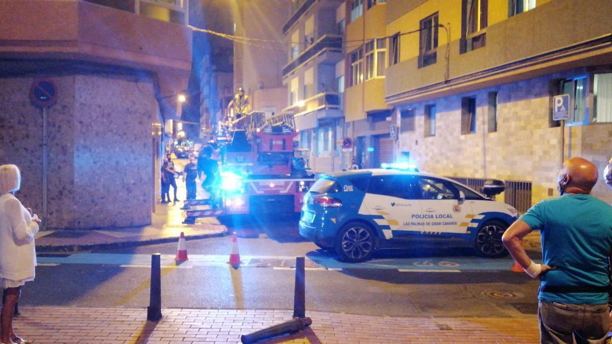 Rescate este sábado de un varón herido en Las Palmas de Gran Canaria por una luxación de cadera.