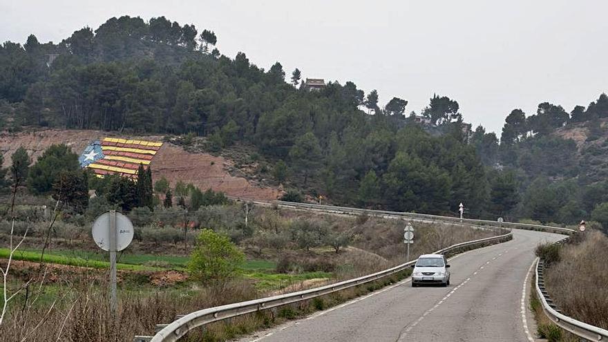 La Diputació assumirà el vial d'accés a Castellnou com a carretera el 2022