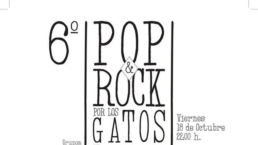 6º Concierto Pop&Rock por los Gatos de la Calle