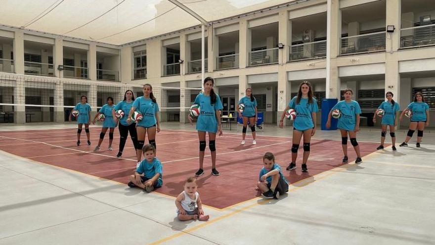 Arranca una campaña histórica en el voleibol del Grau de Gandia