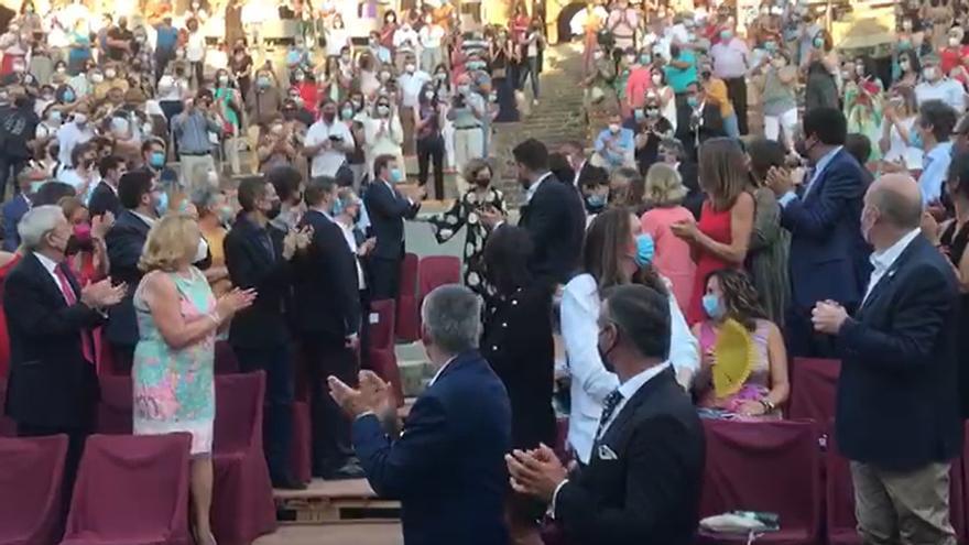 La reina Sofía acude a la inauguración del 67 Festival de Teatro Clásico de Mérida