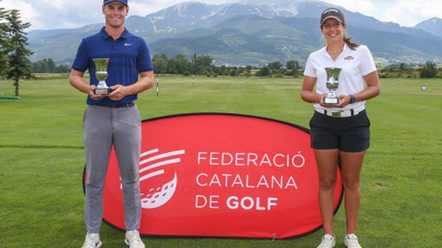 Sabrià i Ayora es proclamen campions catalans al Fontanals Golf Club