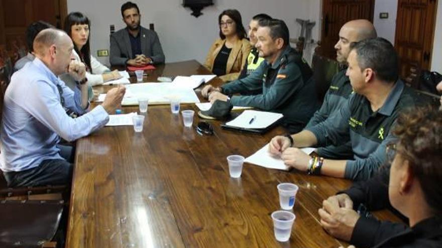 Estrategia conjunta en Sagunt para vigilar mejor 120 km2 de zona rural