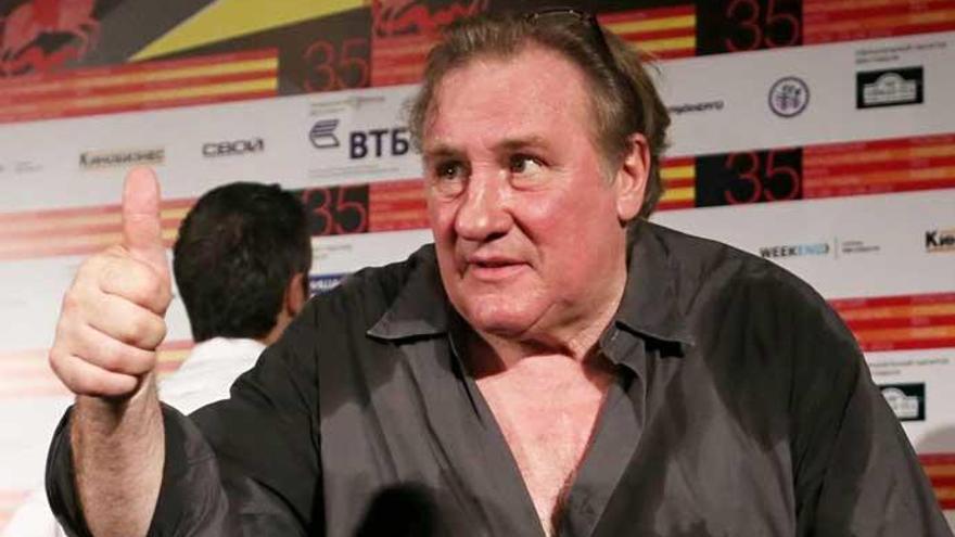 Archivada la denuncia por violación contra Gerard Depardieu