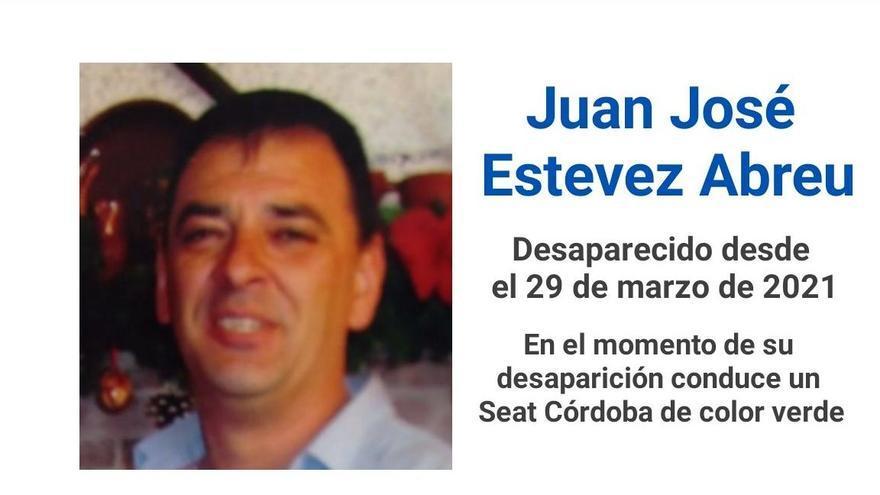 Buscan a Juan José Estevez Abreu.