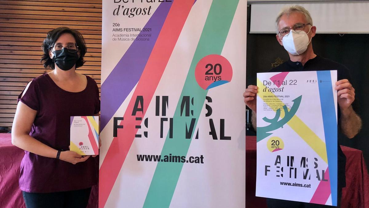 Presentació de la 20a edició de l'AIMS de Solsona