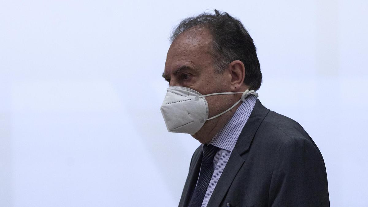 El ex jefe de la UDEF José Luis Olivera.