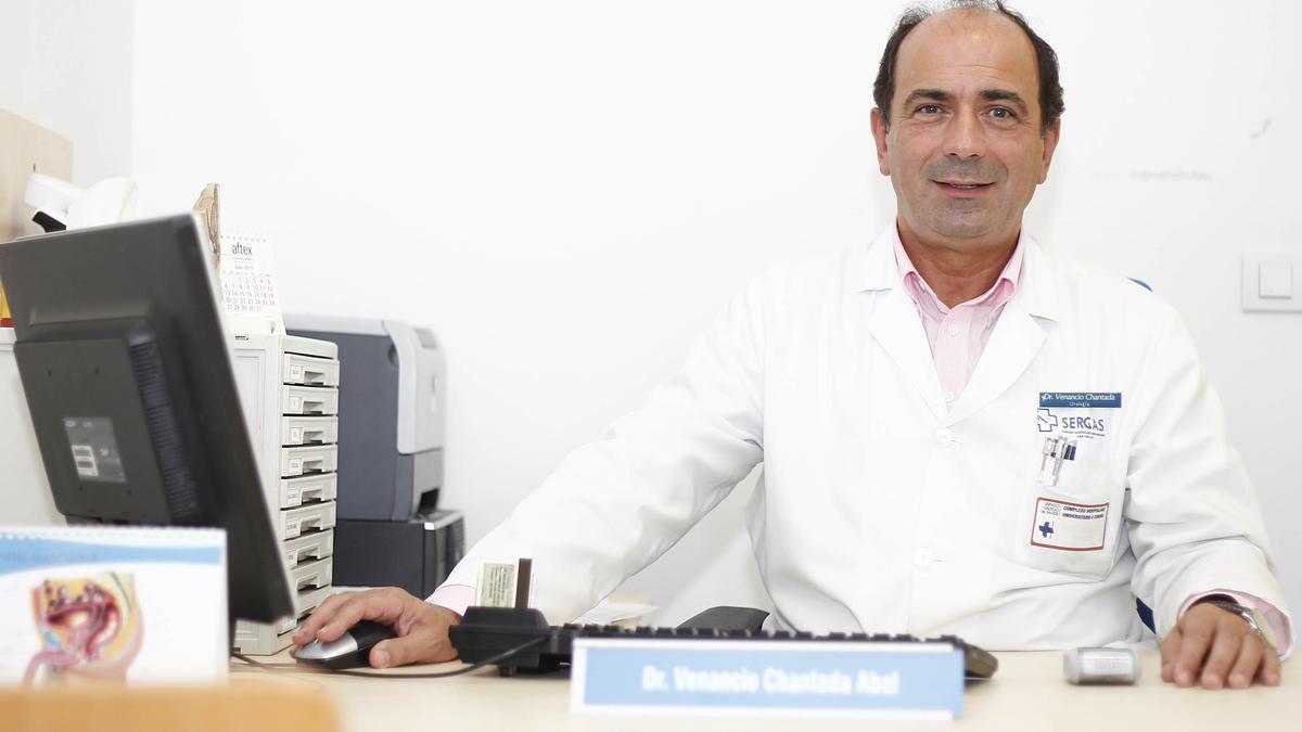 Venancio Chantada, jefe de Urología del Hospital de A Coruña. / 13Fotos