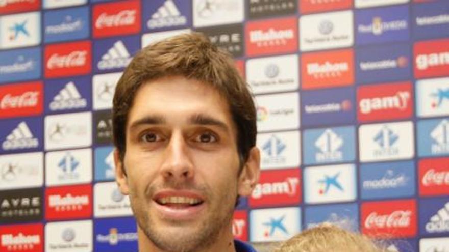 """Juan Forlín: """"Elegí el Oviedo porque es el que más interés mostró en mí"""""""