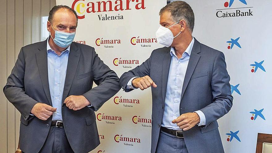 CaixaBank volverá a financiar a las empresas a través de Cámara Valencia