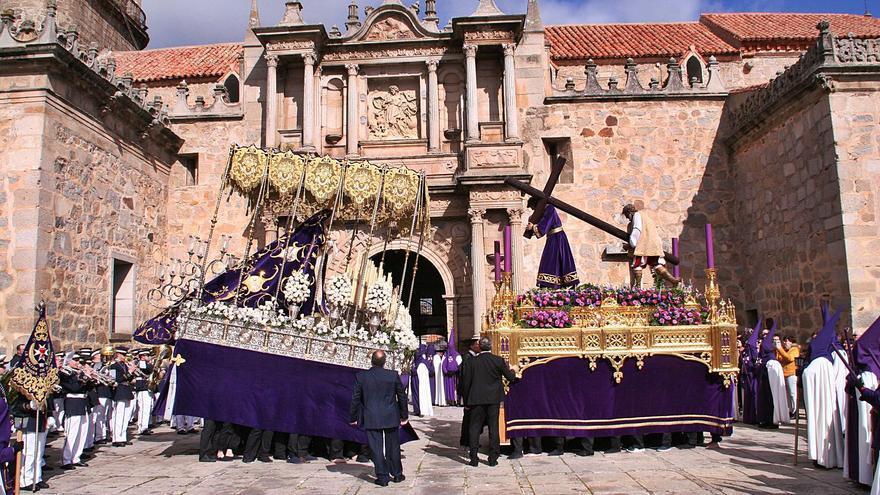 Escenas de la Pasión cargadas de gran devoción en Hinojosa del Duque