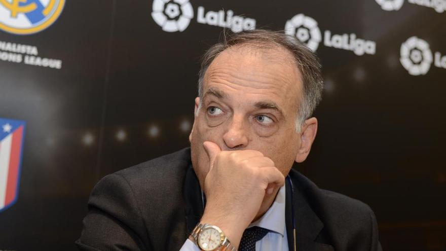El CSD rechaza la petición del Deportivo de inhabilitar a Tebas