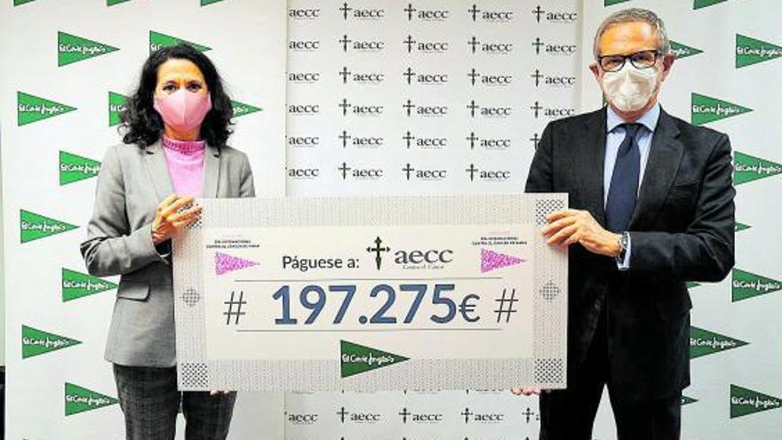 197.275 euros para tratar el cáncer