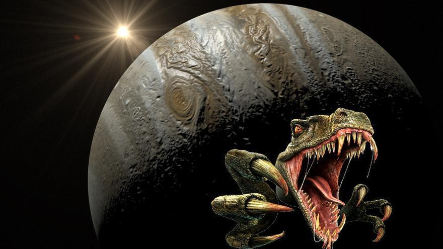 Nueva teoría: Los dinosaurios desaparecieron por culpa de Júpiter