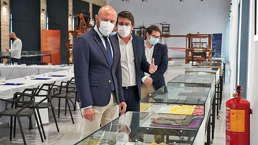 La diputación apoyará económicamente la implantación del Museu del Tèxtil