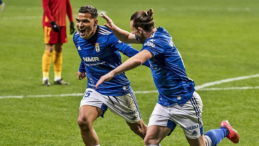 Nahuel vuelve a sonreír en Oviedo