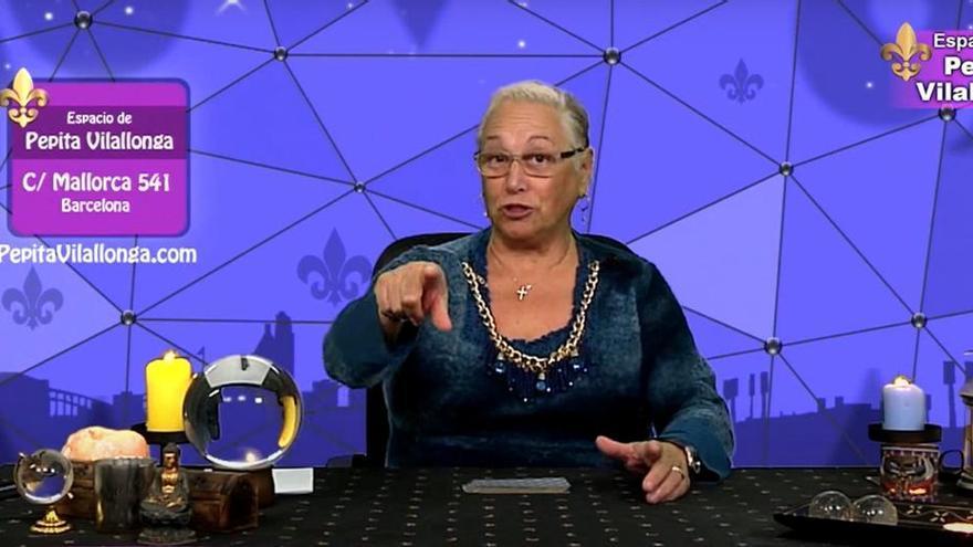 La vidente televisiva Pepita Vilallonga será juzgada acusada de estafa