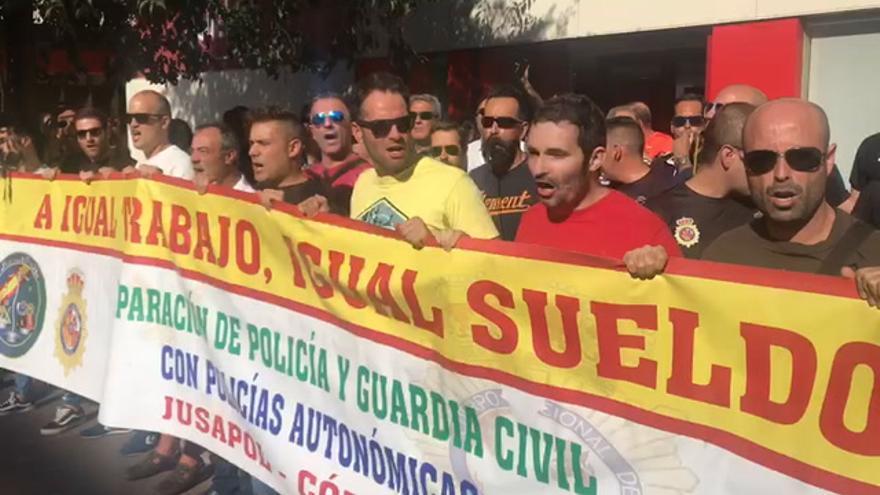 Jusapol reclama que se respeten los derechos y libertades de la sociedad