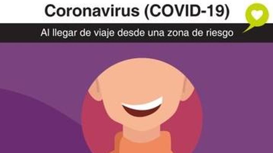 Sanidad pide no realizar visitas a los hospitales de Canarias en caso de tos, fiebre o problemas respiratorios