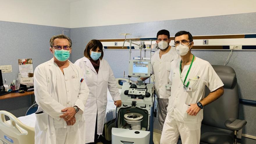 El Hospital Clínico incorpora un equipo de extracción de células madre para realizar trasplantes medulares