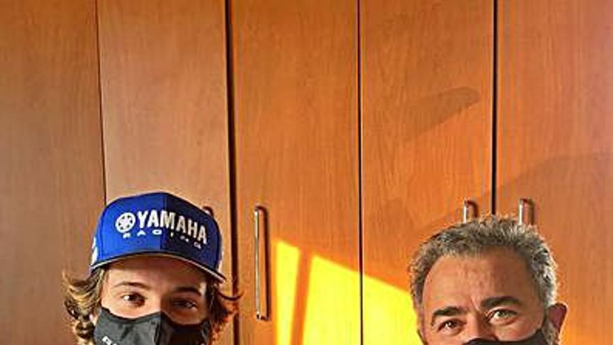 """Martínez: """"Seguir en Yamaha me ofrece un mejor futuro"""""""