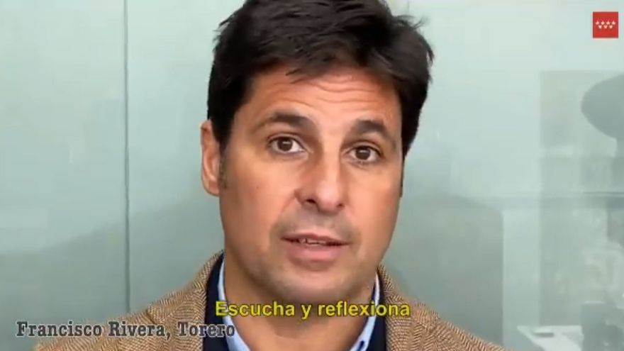 Madrid recurre a Fran Rivera y Pelayo Díaz para concienciar a los jóvenes sobre el coronavirus