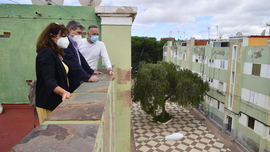 A concurso la rehabilitación de  96 viviendas en Lomo Apolinario