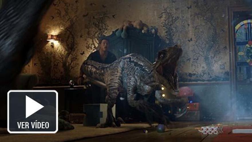 'Jurassic World: El reino caído' se presenta al mundo en España