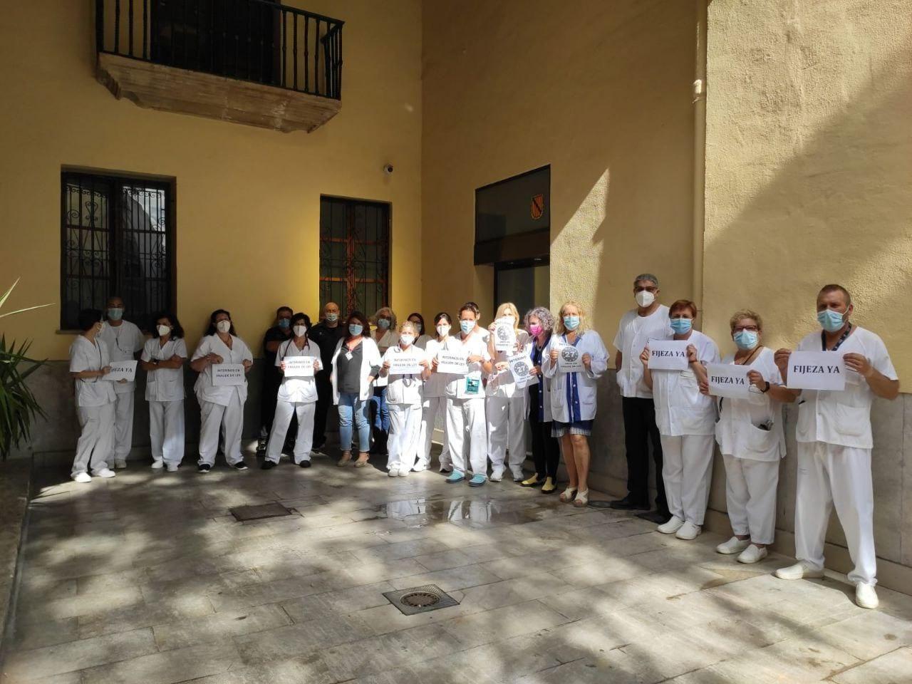 """Coordinadora de Interinos de Baleares convoca huelga parcial para este miércoles contra el """"abuso de la temporalidad"""""""