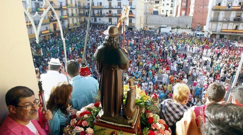 Fotogalería del chupinazo de San Roque en Calatayud