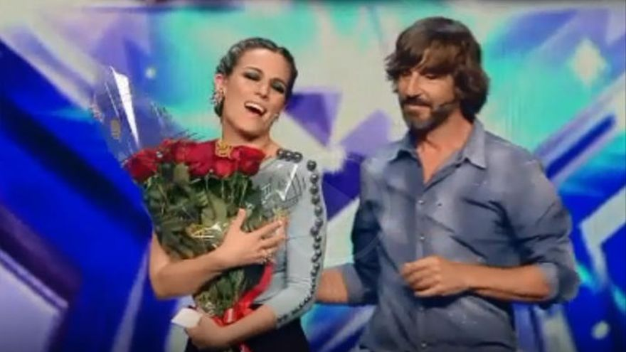 De Gea sorprende a Edurne en 'Got Talent'