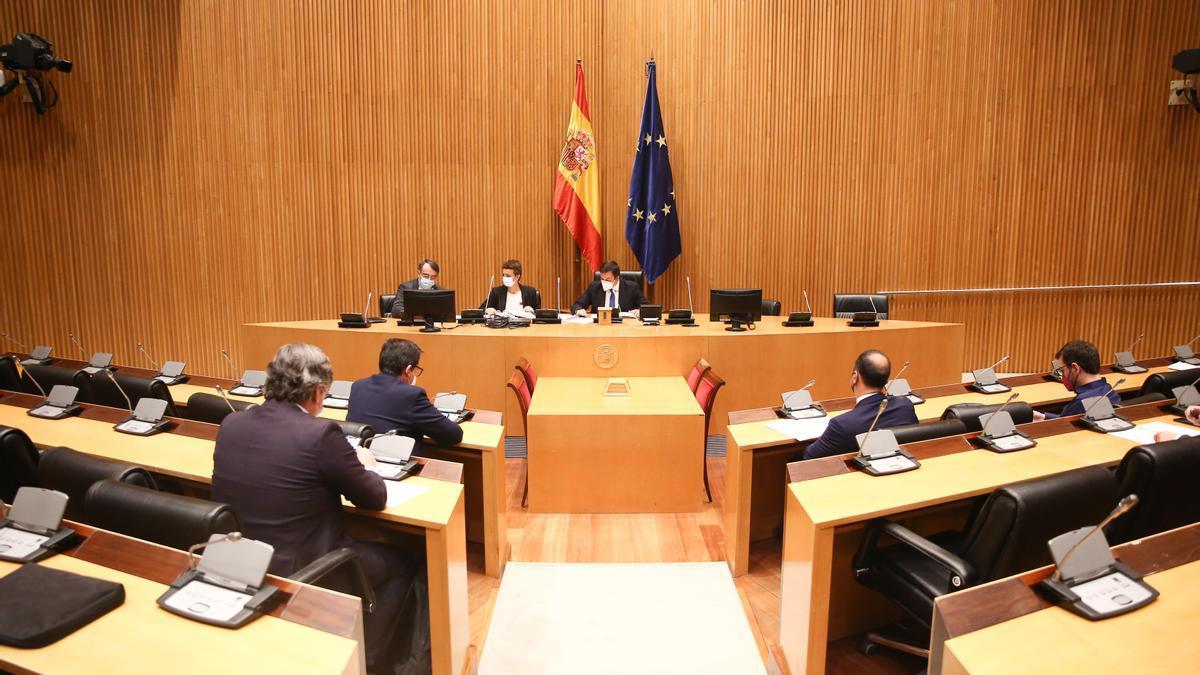 Una de las comisiones del Congreso de los Diputados