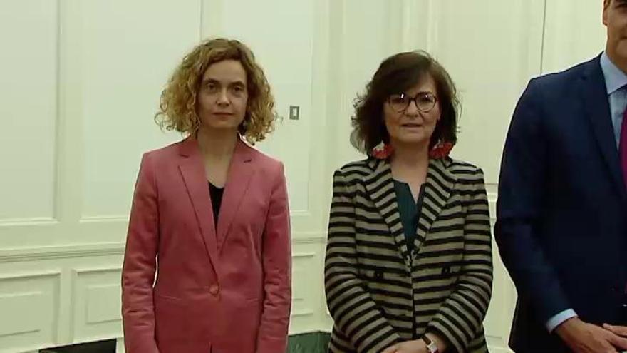 Sánchez propondrá a Meritxell Batet y Manuel Cruz para presidir el Congreso y el Senado
