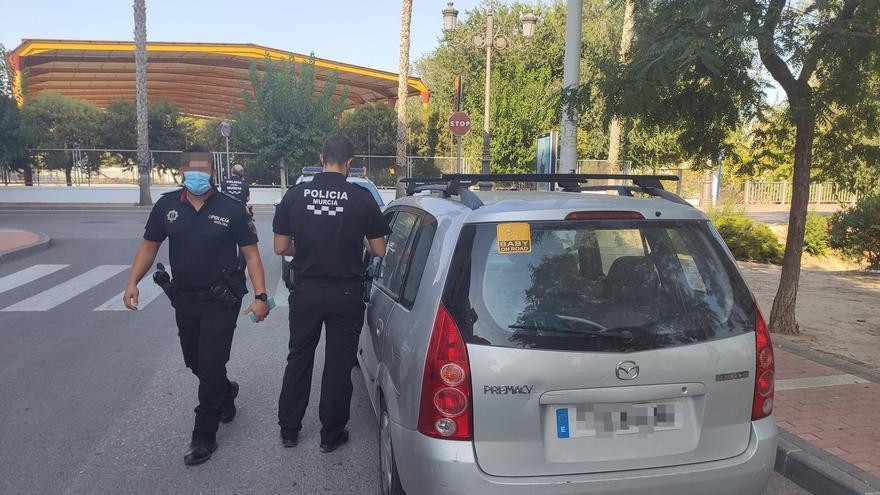 Persecución policial de Murcia a Molina para cazar a un conductor borracho
