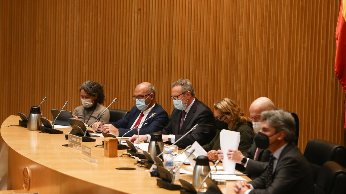 Comisión de Investigación por las Víctimas del Accidente de Spanair en el Congreso.