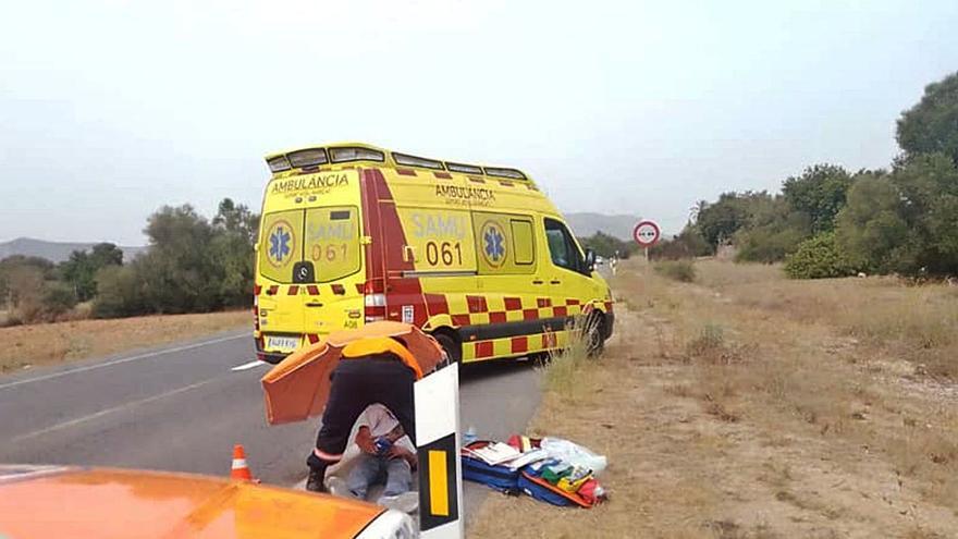 Auxilian en la Serra de Tramuntana a nueve excursionistas en apuros por la ola de calor