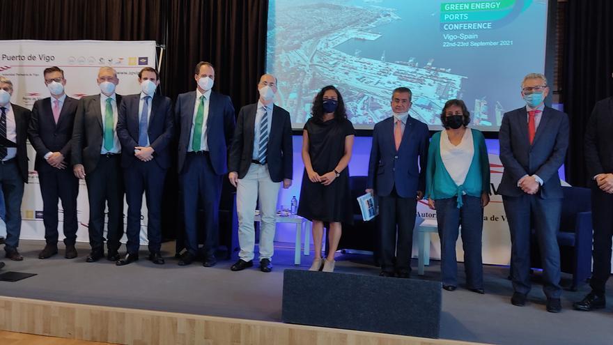 Éxito internacional en la Conferencia de Energías Verdes, organizada por el Puerto de Vigo