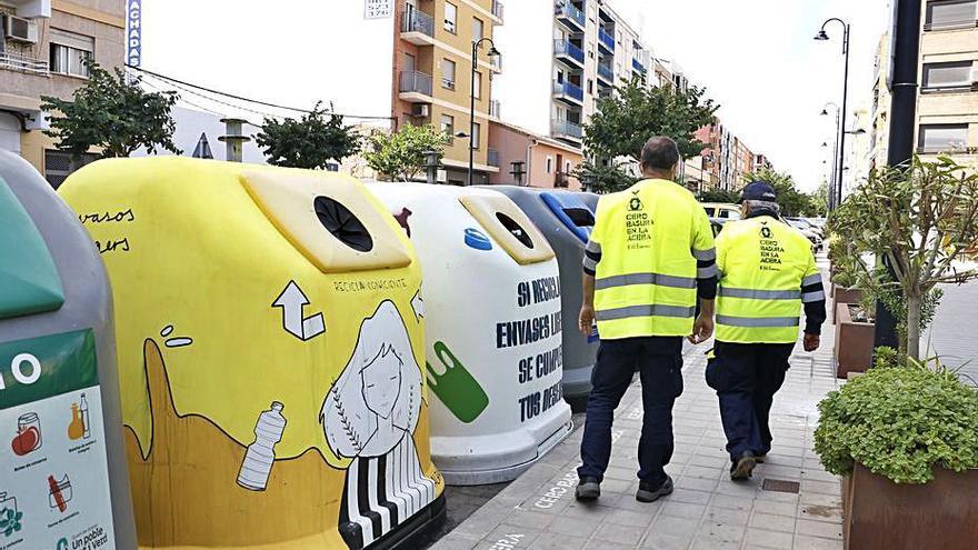 Una «ecopatrulla» vigilará  el buen reciclaje en Quart